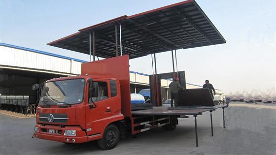 东风佳运5.6米至6.2米舞台车图片