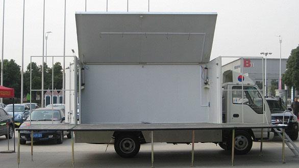 江淮单展18-24平米舞台车图片