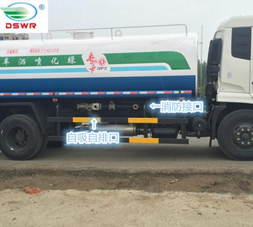 东风天锦洒水车(15吨)图片