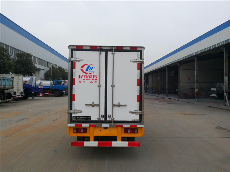 CLW5020XLC5冷藏车高清图片