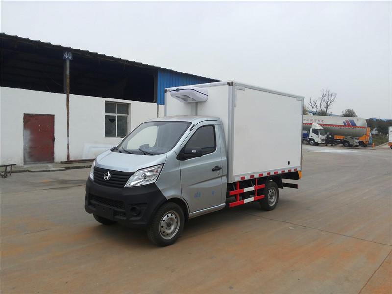 国六长安2.7米小型冷藏车