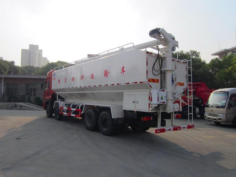 东风天龙(40方/20吨)散装饲料运输车图片