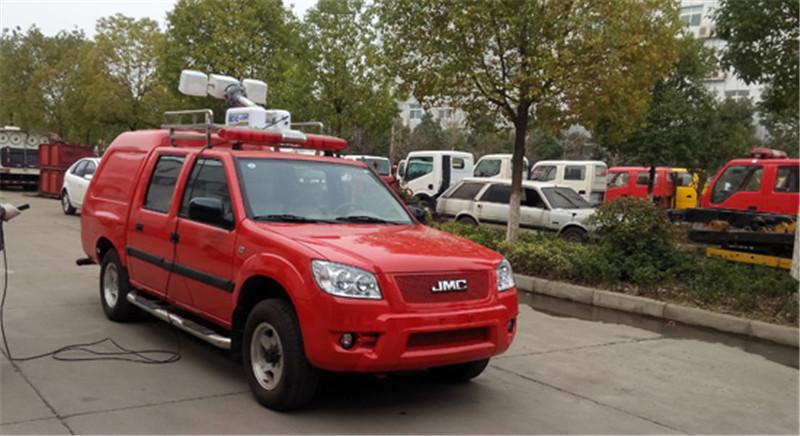 消防巡逻车图片大全__汽车家园网