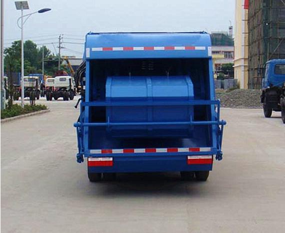 重汽王牌压缩式垃圾车图片