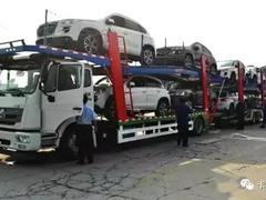 國內首批中置軸轎運車投入運行!新GB1589后,中置軸貨車列車火了!