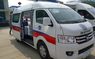 福田救护车图片