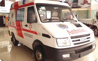 依维柯救护车图片