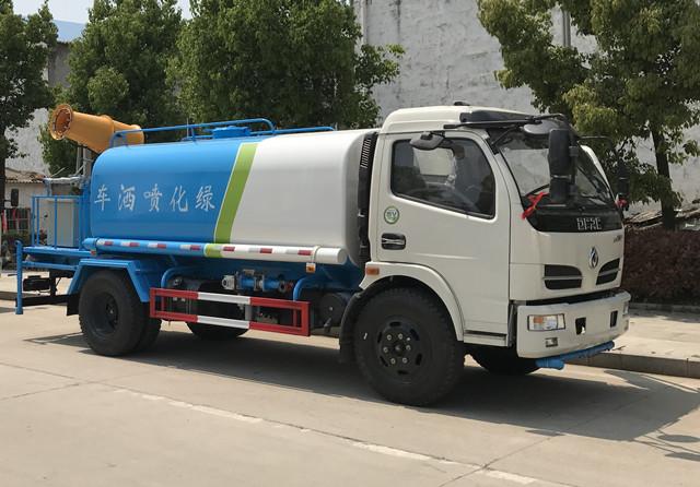 东风福瑞卡8吨雾炮洒水车