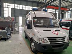 依維柯救護車成功發往銅仁市沿河縣沙坨益民醫院