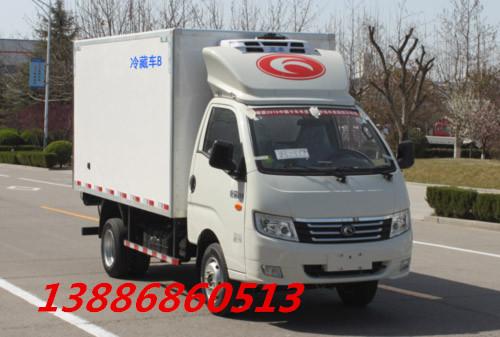 3.5米汽油冷藏车图片