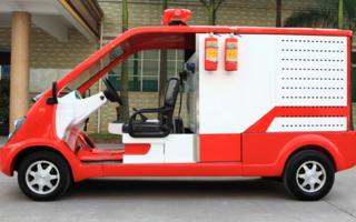 2座电动消防车图片