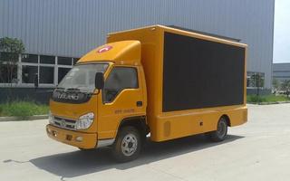 小卡之星3LED广告车