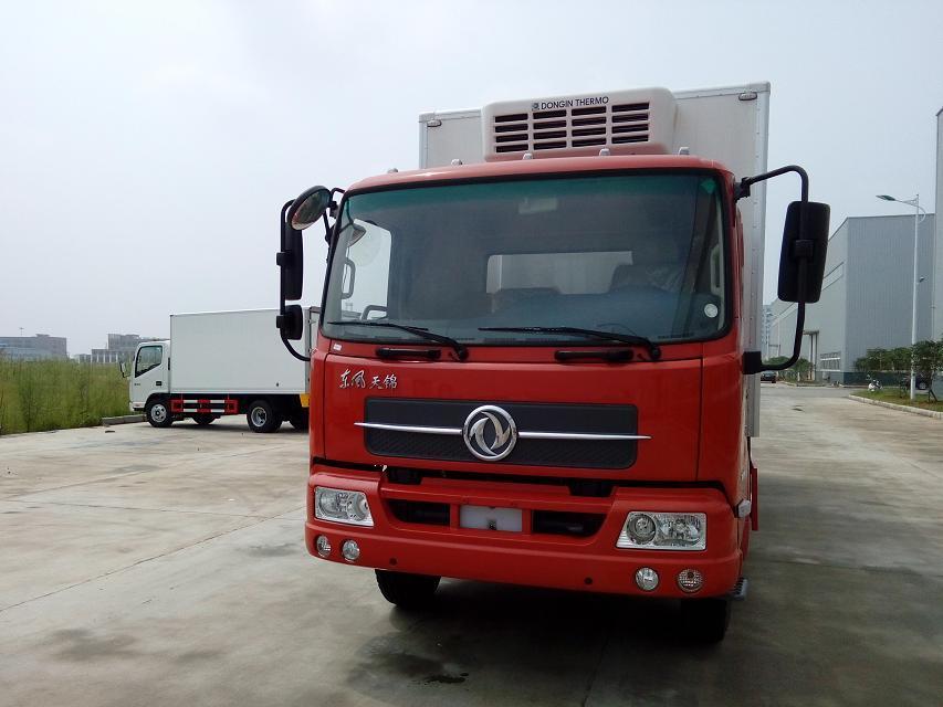 东风天龙前四后八9.6米运输冷藏车底盘配置介绍(图7)