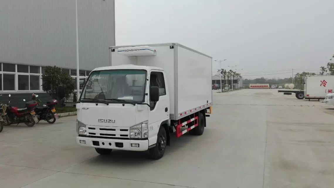(国六)庆玲五十铃100P(4.2米) 冷藏车