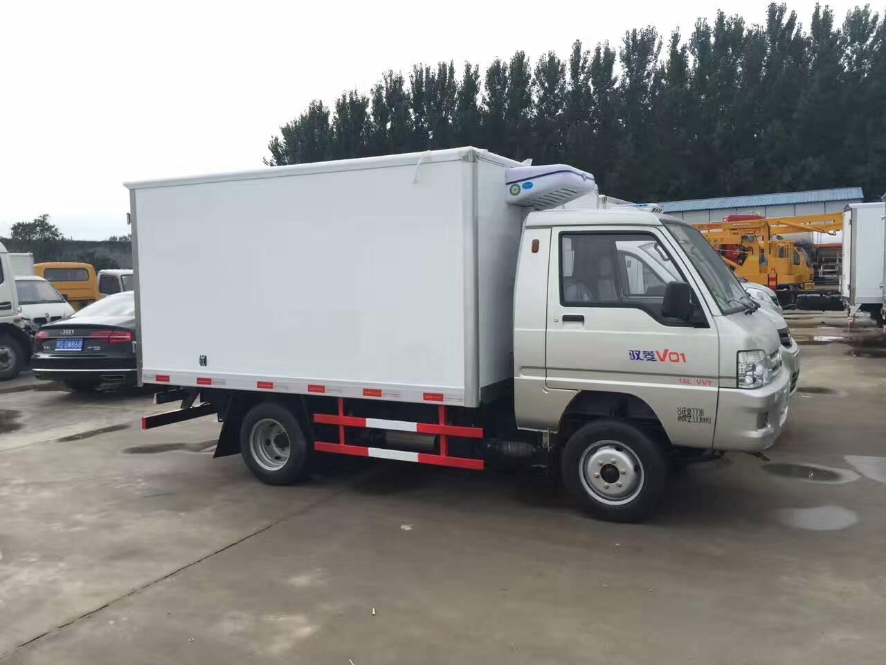 福田驭菱2.9米冷藏车图片