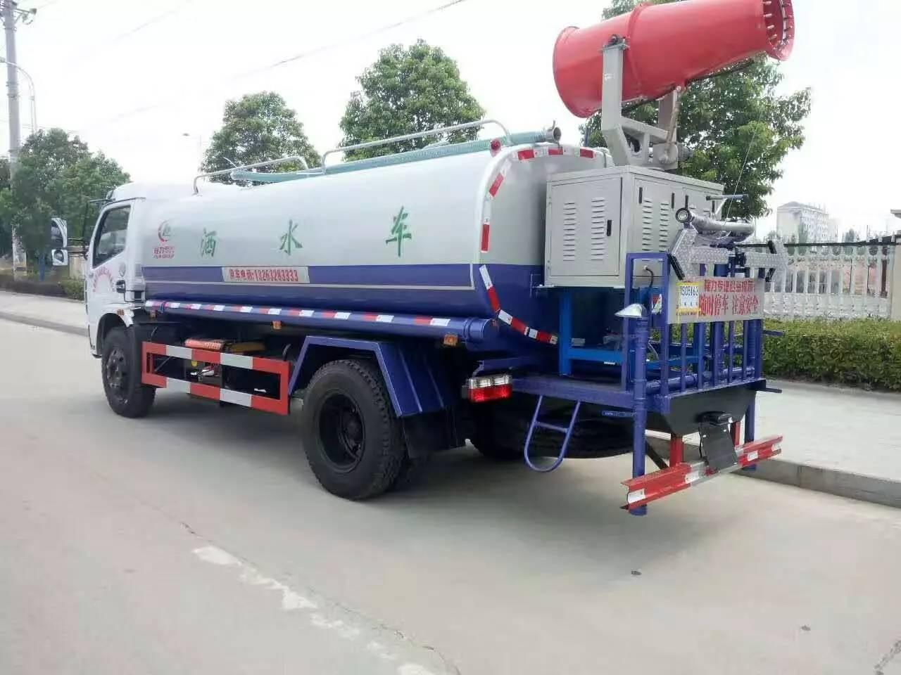 东风多利卡8吨洒水雾炮车图片