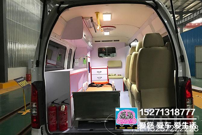 福田G9國五汽油救護車圖片