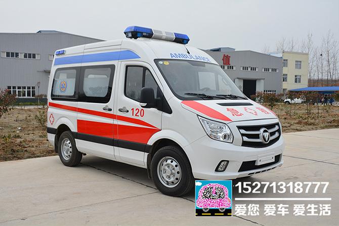 福田圖雅諾120救護車(短軸)圖片