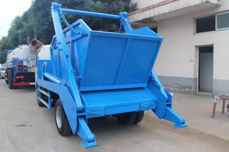 东风小霸王压缩式垃圾车图片
