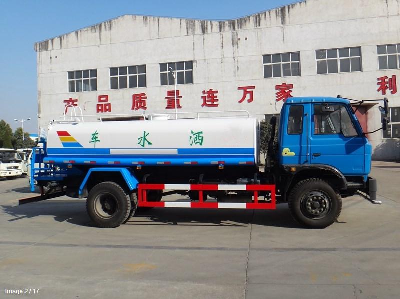 东风145   12吨洒水车图片