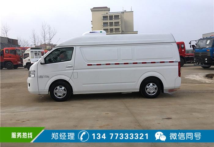福田g7小型面包冷藏车价格配置报价