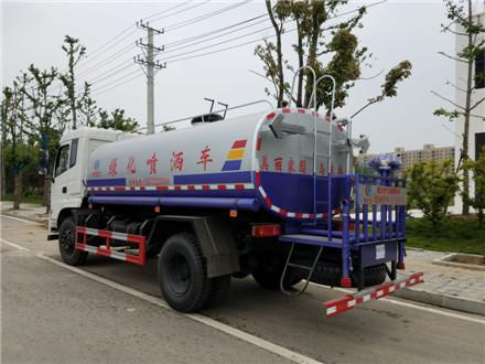 东风153洒水车15吨图片