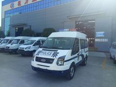 江鈴福特新世代短軸囚車成功發車到桂林