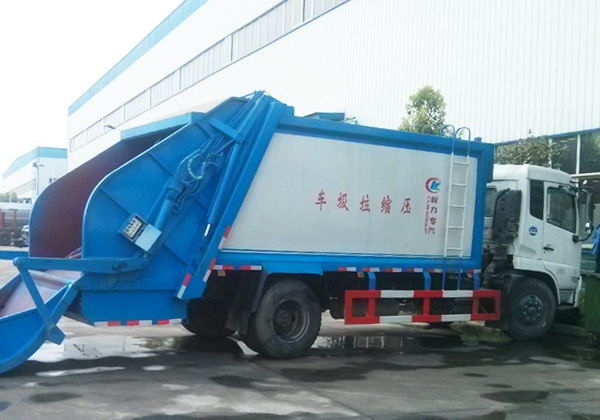 解放J6  12方压缩式垃圾车图片