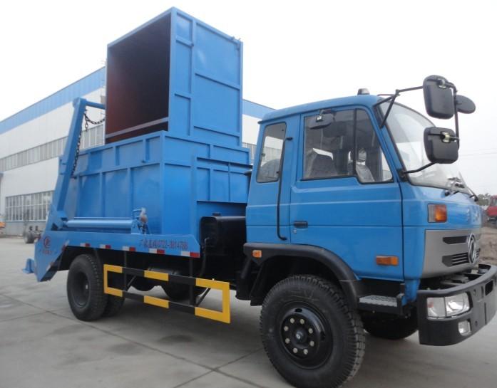 东风145型10吨摆臂垃圾车图片