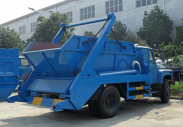 东风140  6方尖头摆臂垃圾车图片