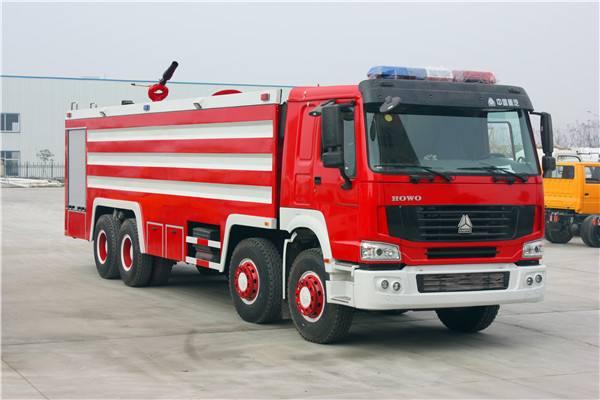 标准的消防车