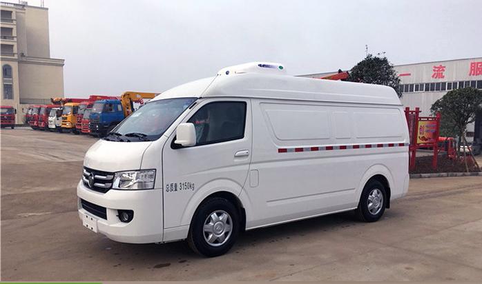 福田G7面包冷藏车1