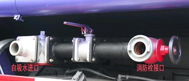 洒水车泵进泵出口