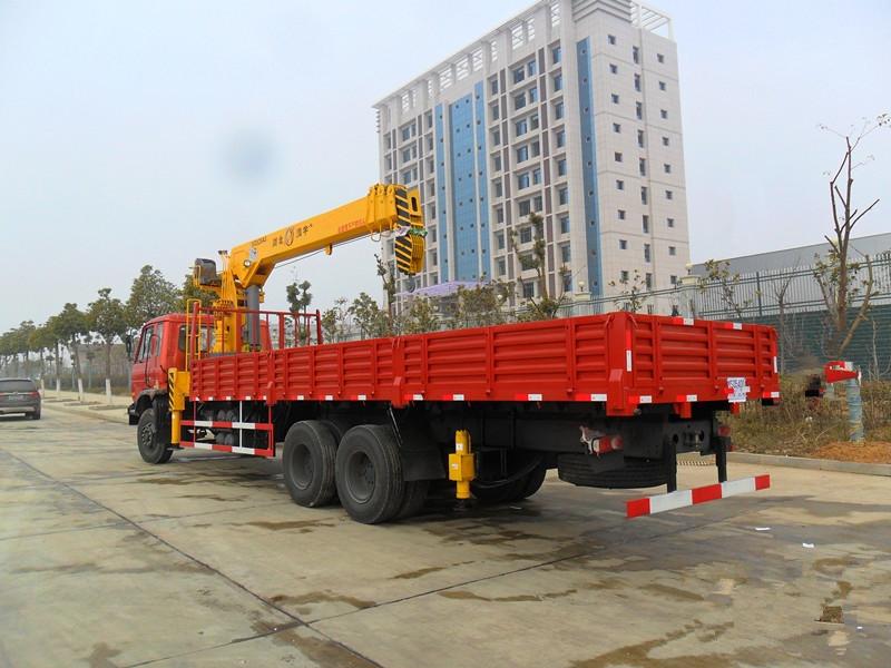 东风12吨随车吊图片