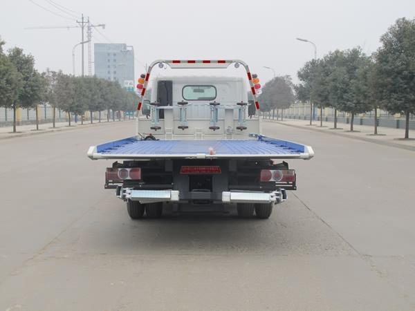东风凯普特N300平板一拖二清障车图片