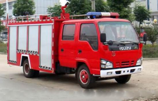 五十铃3吨水罐消防车(国五)图片