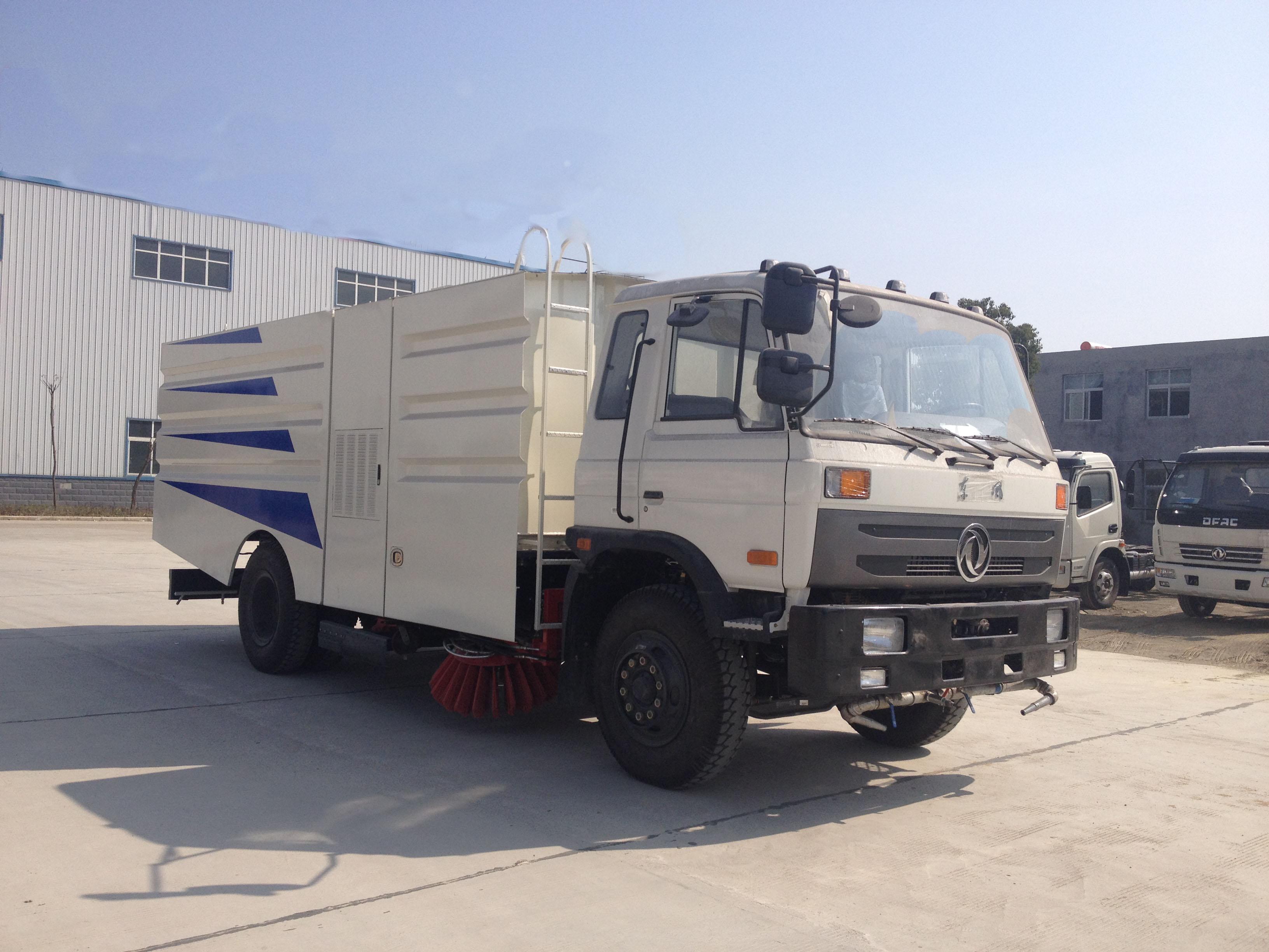 东风153大型16吨洗扫车图片