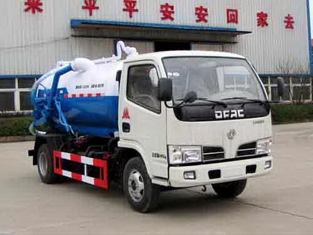 东风4吨吸污车图片