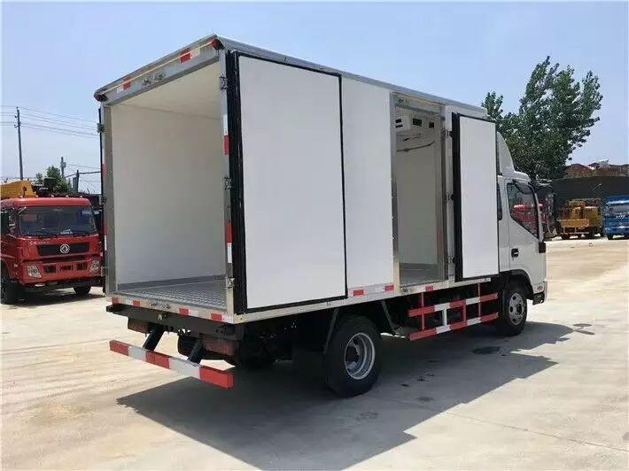 大运排半3.75米冷藏车图片