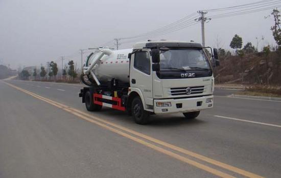 东风8吨吸污车图片