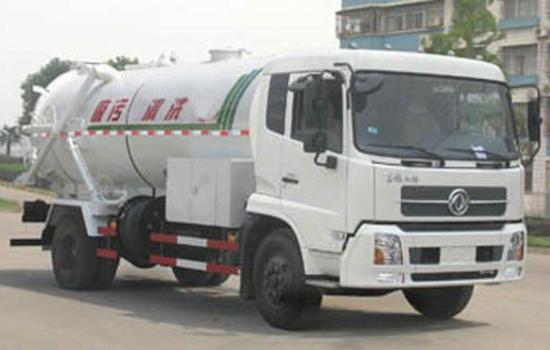 东风天锦15吨清洗吸污车图片