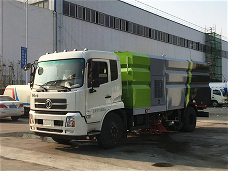 東風天錦16噸洗掃車圖片