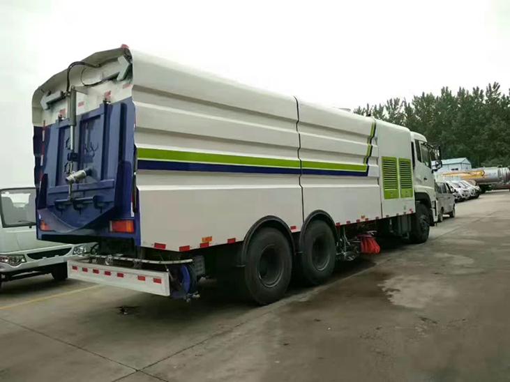 东风天龙(国五)16吨洗扫车图片