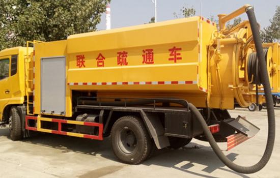 东风天锦下水道疏通清洗车