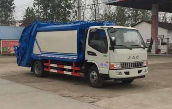 江淮5方压缩式垃圾车图片