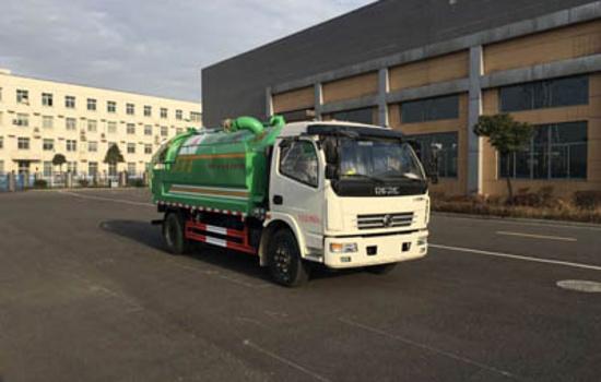 东风7吨清洗吸污车图片