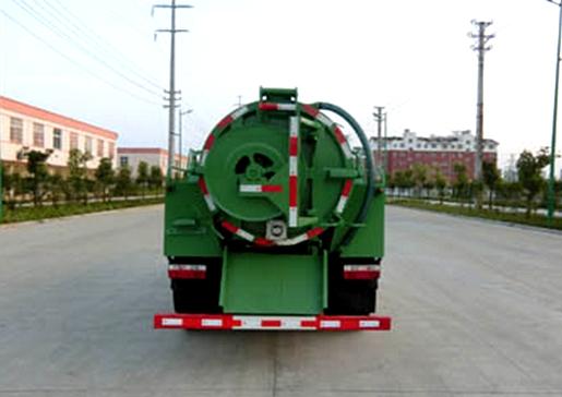 东风3吨清洗吸污车图片