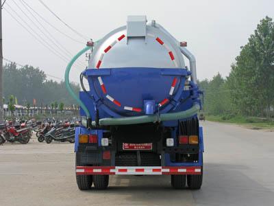153老款东风12吨清洗吸污车图片