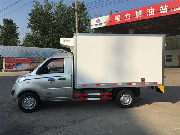 福田冷藏车 福田伽途T3冷藏车图片