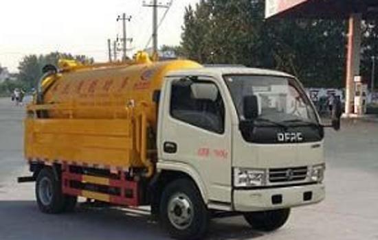 东风多利卡10吨清洗吸污车图片